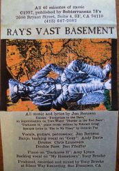 Ray's Vast Basement 1997 album liner notes