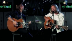 Switchfoot live at Revision 3 (still from video)