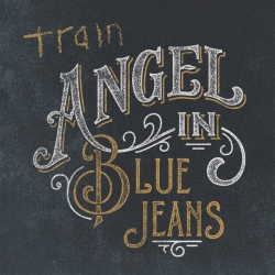 Train ‎– Angel In Blue Jeans single cover
