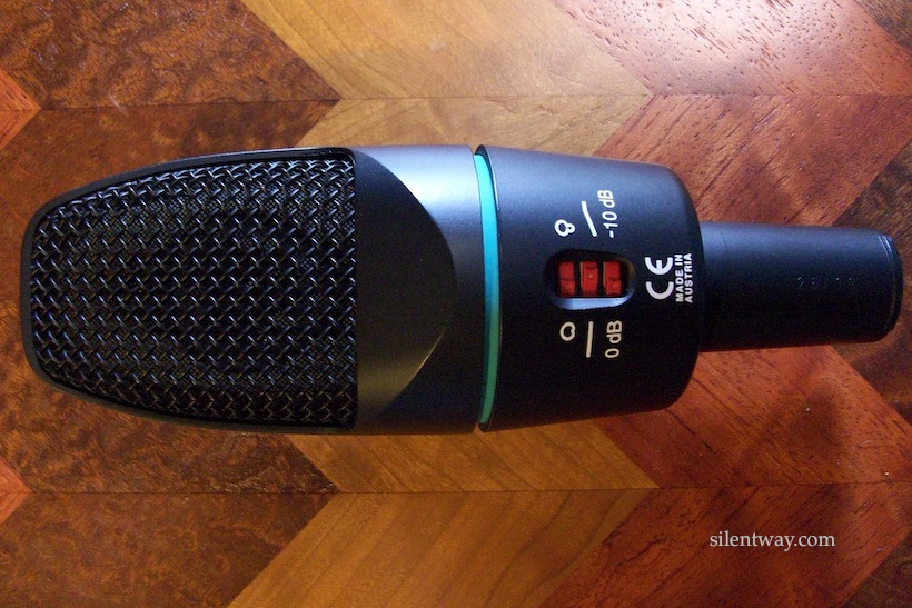 AKG C 3000 (Original version) back