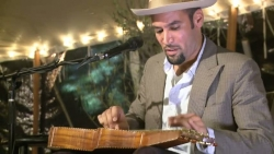 "Ben Harper- Still frame from video of ""Number With No Name"" live in Napa"