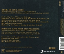 Train – Angel In Blue Jeans single back cover